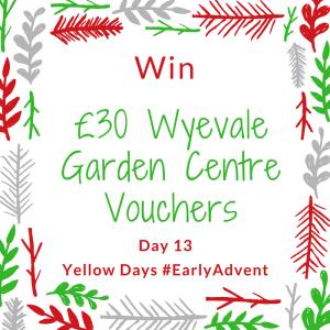 Win £30 Wyevale Garden Centre Vouchers