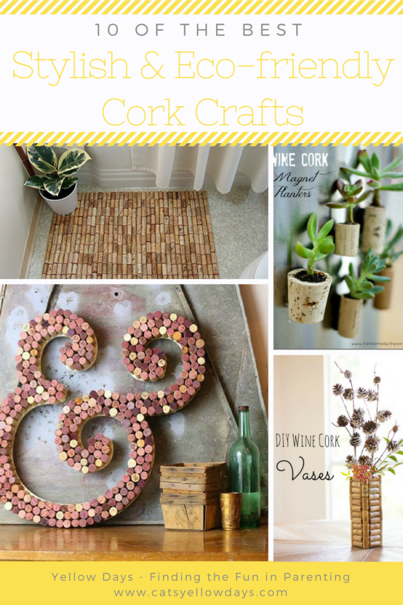 10 of the best stylish and eco-friendly cork crafts - fun with your used corks