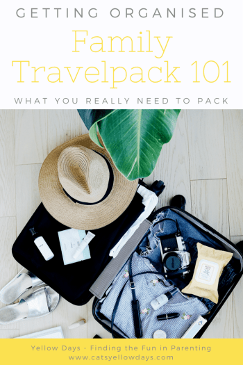 Family travelpack 101 - the most useful holiday stuff you need for your packing sheet
