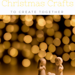 Christian Christmas Crafts - a collection of my 10 favourite religious Christmas crafts for kids