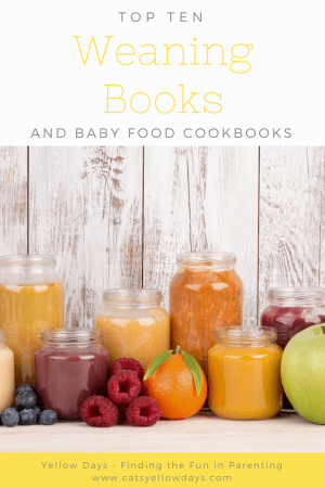 The 10 best weaning books & baby food cookbooks to help with your weaning plan.
