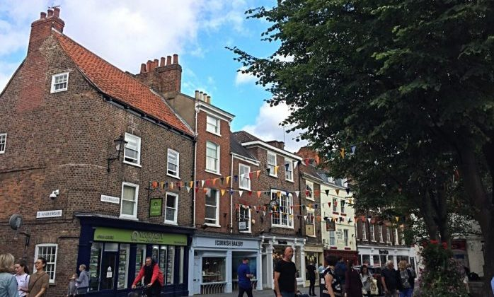 Things to do in York with kids - City centre and the Shambles