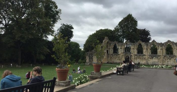 Things to do in York with kids - The Yorkshire Museum Gardens