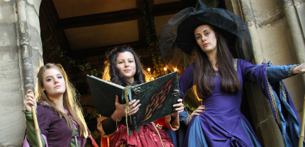 Family Halloween Events - Warwick Castle