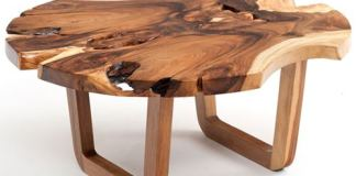 cat-kayu-jati-untuk-Furniture-Tree Stump