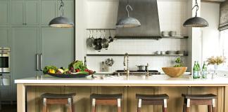 desain dapur gaya tradisonal