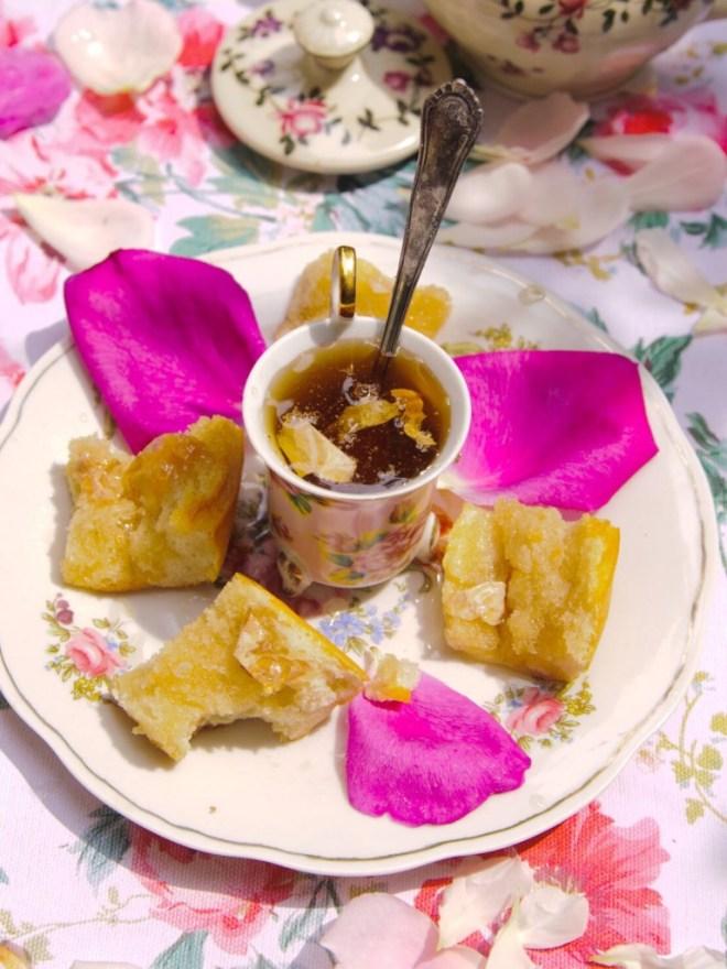 Roses breakfeast frühstück sirup