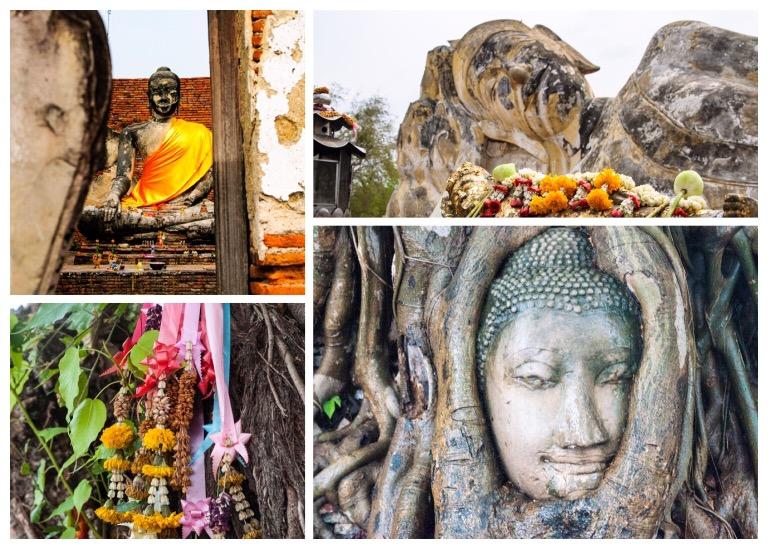 Buddhas Ayutthaya