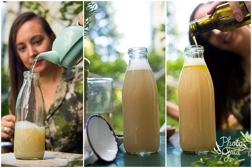 Rezept für DIY Shampoo Rosmarin