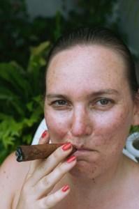 Zigarre Cuba Porträt