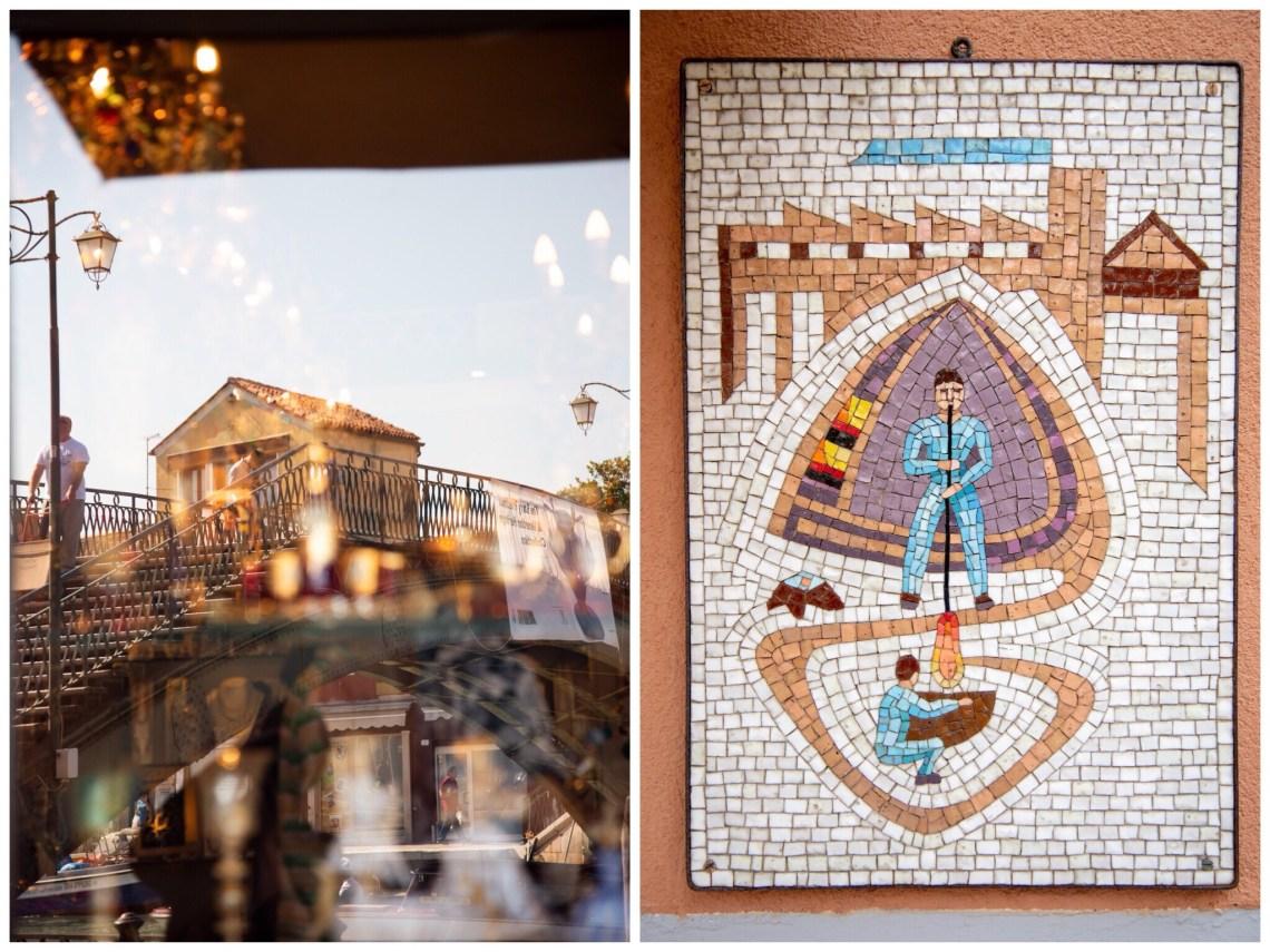 Murano Fotografie Glasblasen