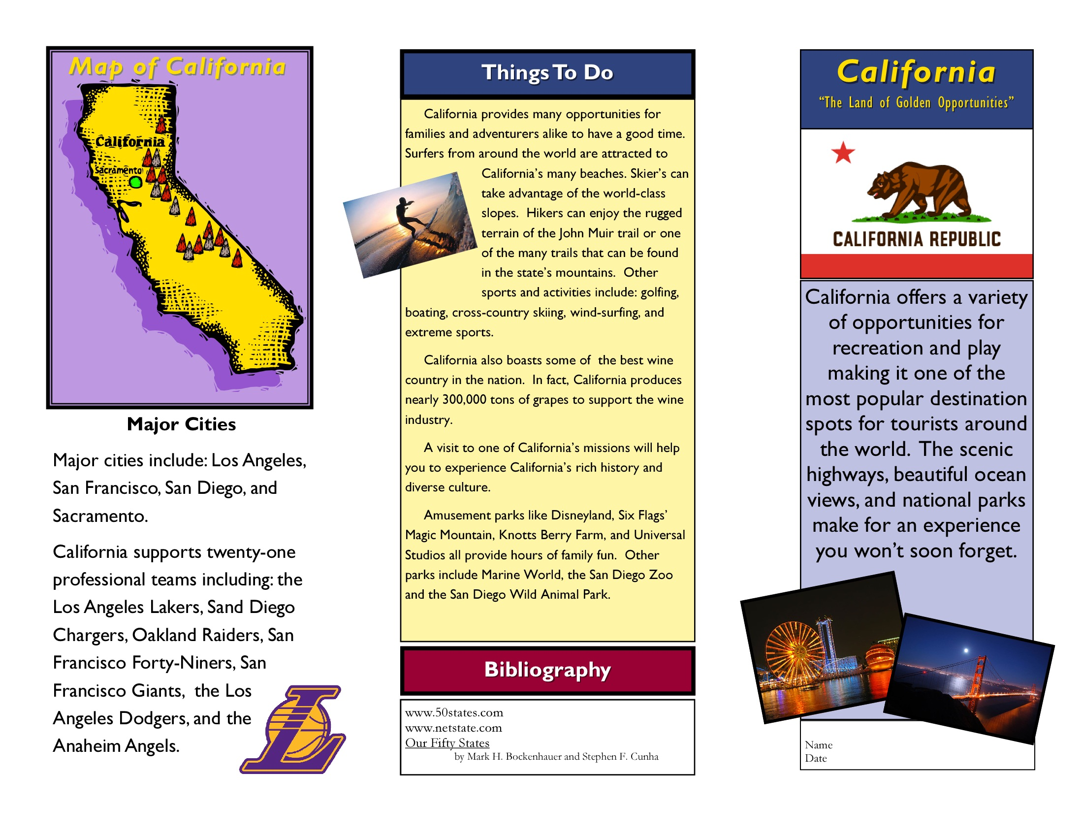 Brochure Examples For School Ideal Vistalist Co
