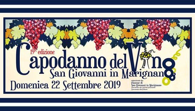Capodanno del Vino 2019 a San Giovanni in Marignano
