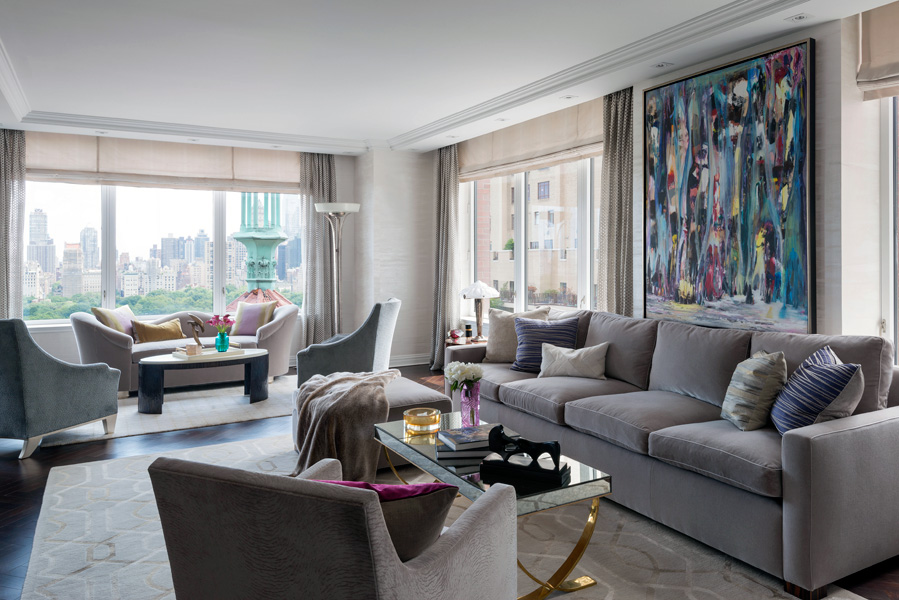 Central Park West Apartment Interior Design