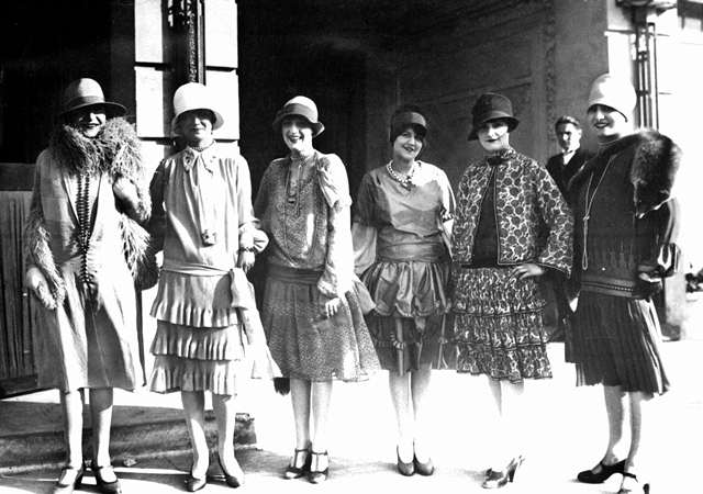 Image result for women's fashion 1920s