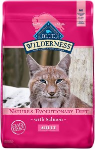 Blue Buffalo Wilderness Adult Dry Cat Food, Salmon