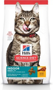 Hill's Science Diet Dry Cat Food, Adult 7+