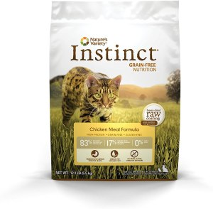 Nature'S Variety Instinct Original Grain-Free Dry Cat Food