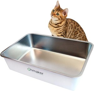 Ohmaker's OhmBox Cat Litter Box