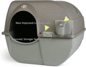 Omega Paw NRA15-1 Self Cleaning Litter Box