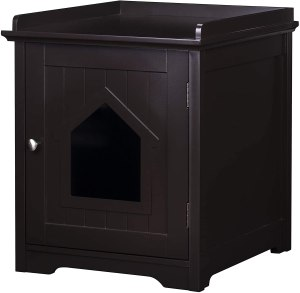 Pawland Decorative Cat Enclosed Litter Box
