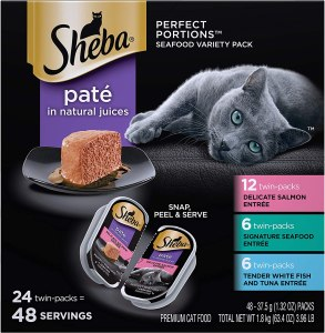 Sheba Perfect Portions Seafood Variety Pack