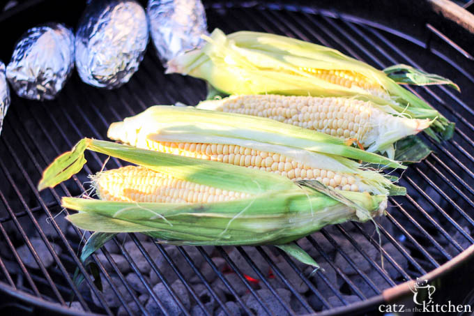 The sweet, smoky sides keep on coming! Add this grilled corn on the cob to almost any outdoor meal!