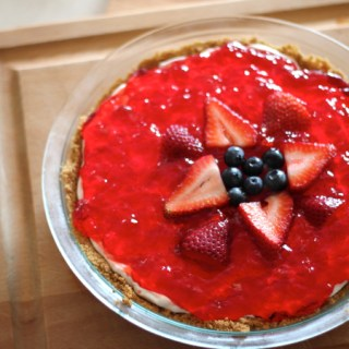 JELL-O  Red, White, and Blue Patriotic Pie
