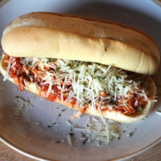 Slow-Cooker Chicken Parmesan Subs