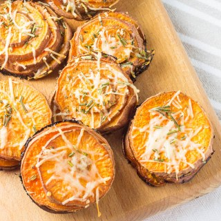 Rosemary Sweet Potato Stacks