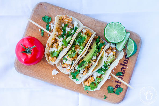 Whether you love the latin flavors of a tinga sauce, or have never tried it, these healthy 30-min chicken tinga tacos are a tasty way to get your fix!