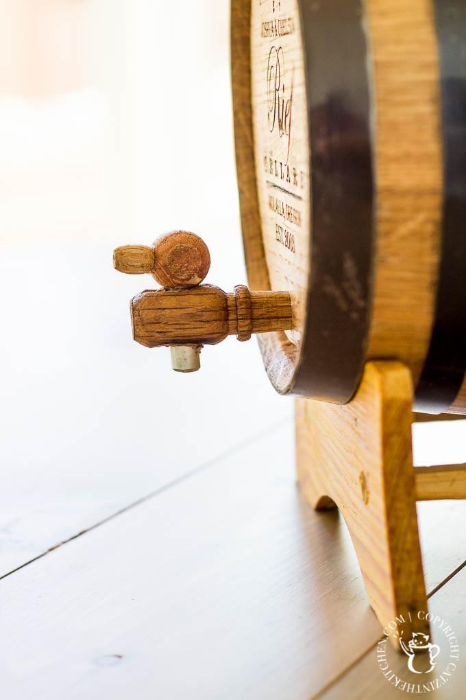 Uncommon Goods' Personalized Wine Barrel