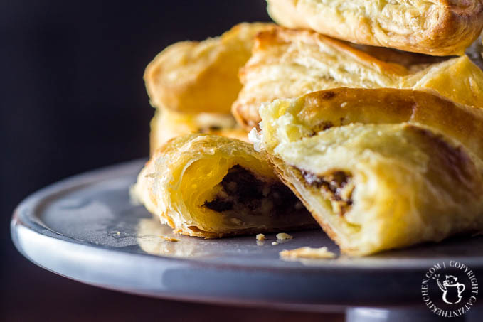 This recipe for making yourself a yummy chocolate danish at home is easy, fun, and a great way to experiment with puff pastry!