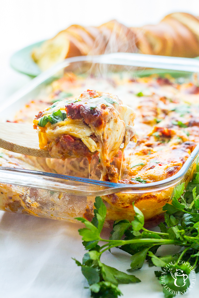 What's better than a tasty recipe for traditional lasagna? One that's freezer friendly with two different ways to make it (quick or from scratch)!