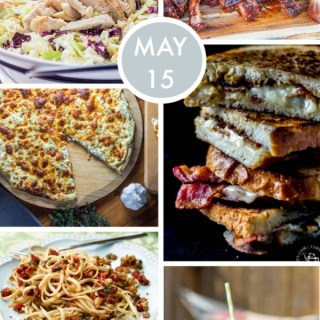 Weekly Menu for the Week of May 15th