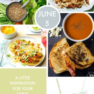 Weekly Menu for the Week of June 5th