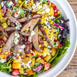 Cowboy Steak Salad