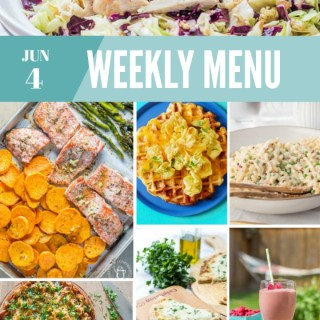 Weekly Menu for the Week of June 4th