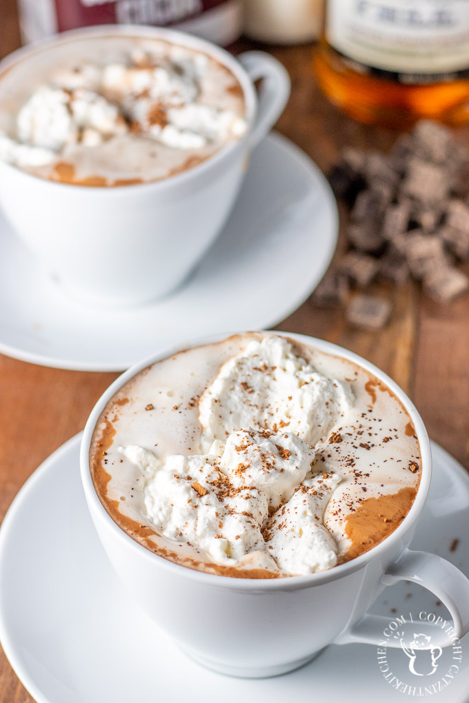 Feeling like you've outgrown your average hot cocoa? Make yourself some grown up hot chocolate from scratch with cocoa, vanilla, salt, milk, and cream!