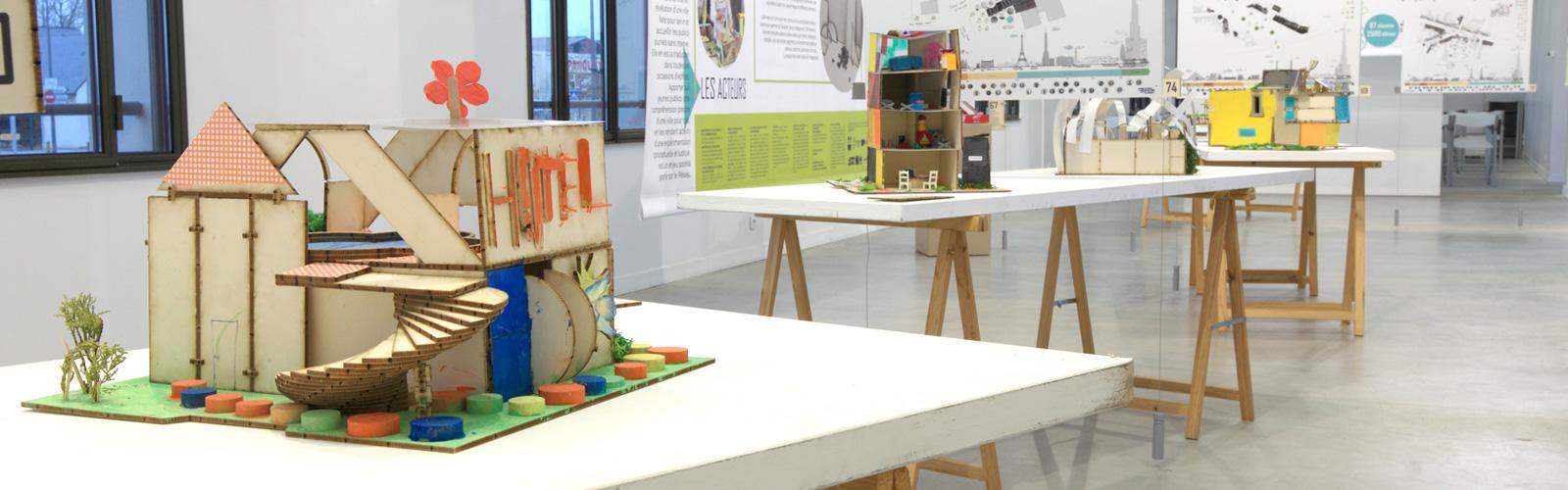 Exposition Journée Nationale de l'Architecture en Classes