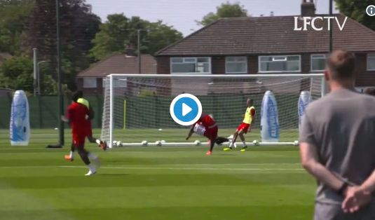 Liverpool news: Danny Ward save video in training - Latest