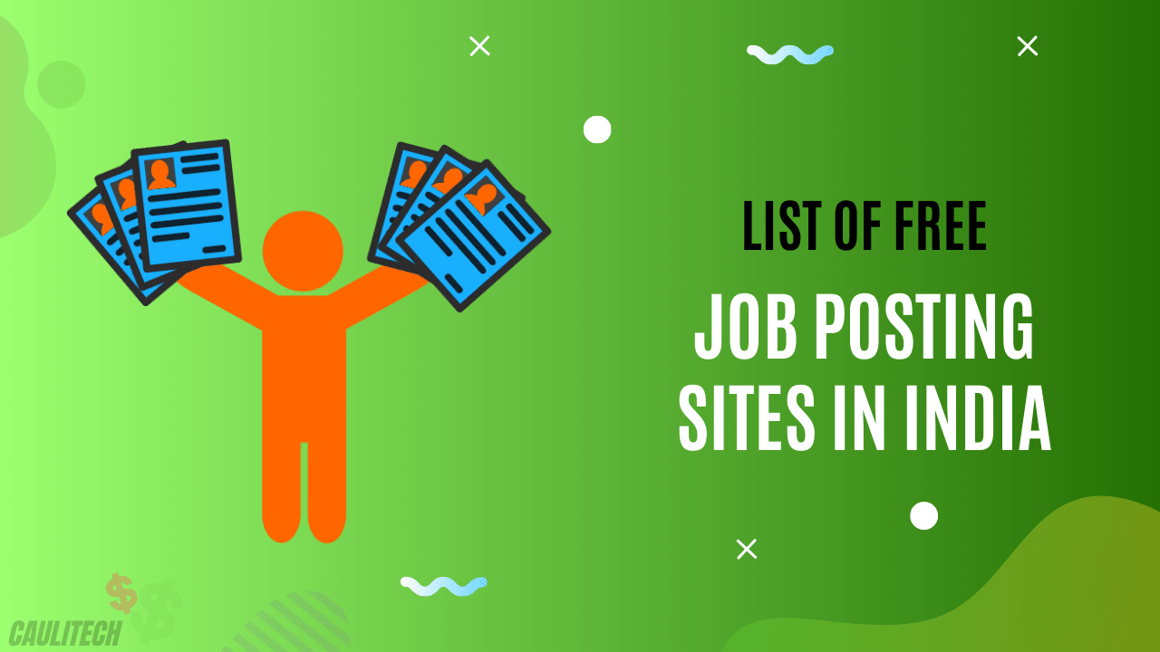list of free job posting sites in india
