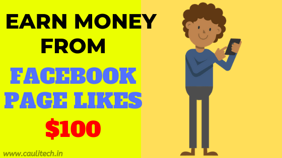 earn money from facebook page likes