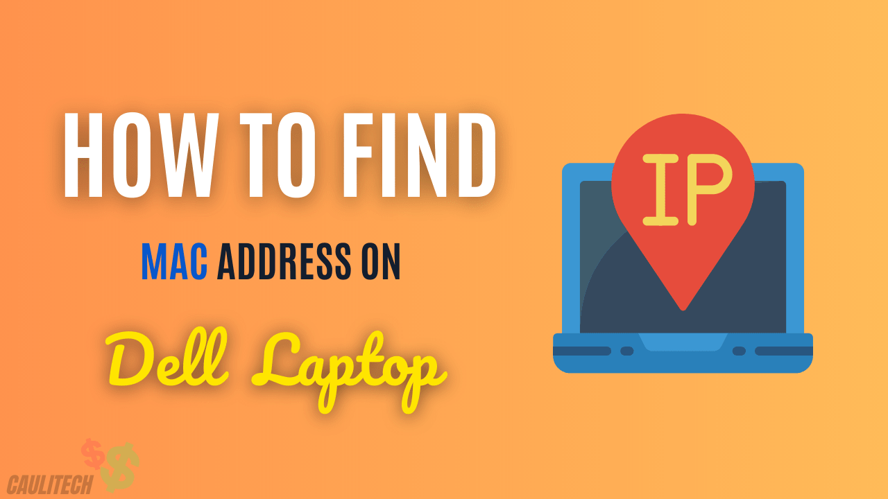 how to find mac address on dell laptop