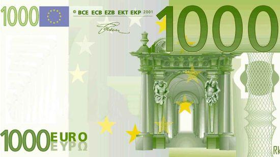 Die Geschichte vom 1000-Euro-Schein