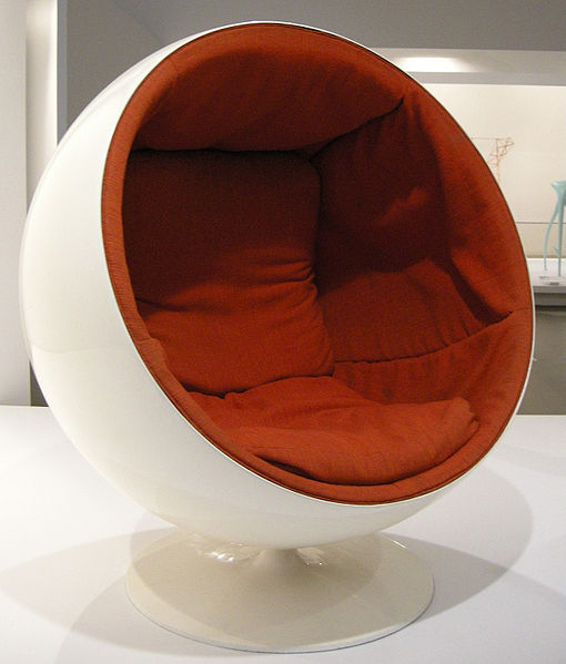 hanging chair cocoon white plastic lounge chairs outdoor 1960s & 1970s furniture and interior design - cause a frockus »