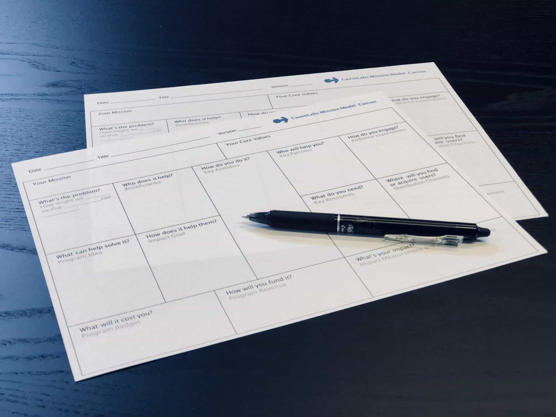 Growing Positive Impact With The Mission Model Canvas