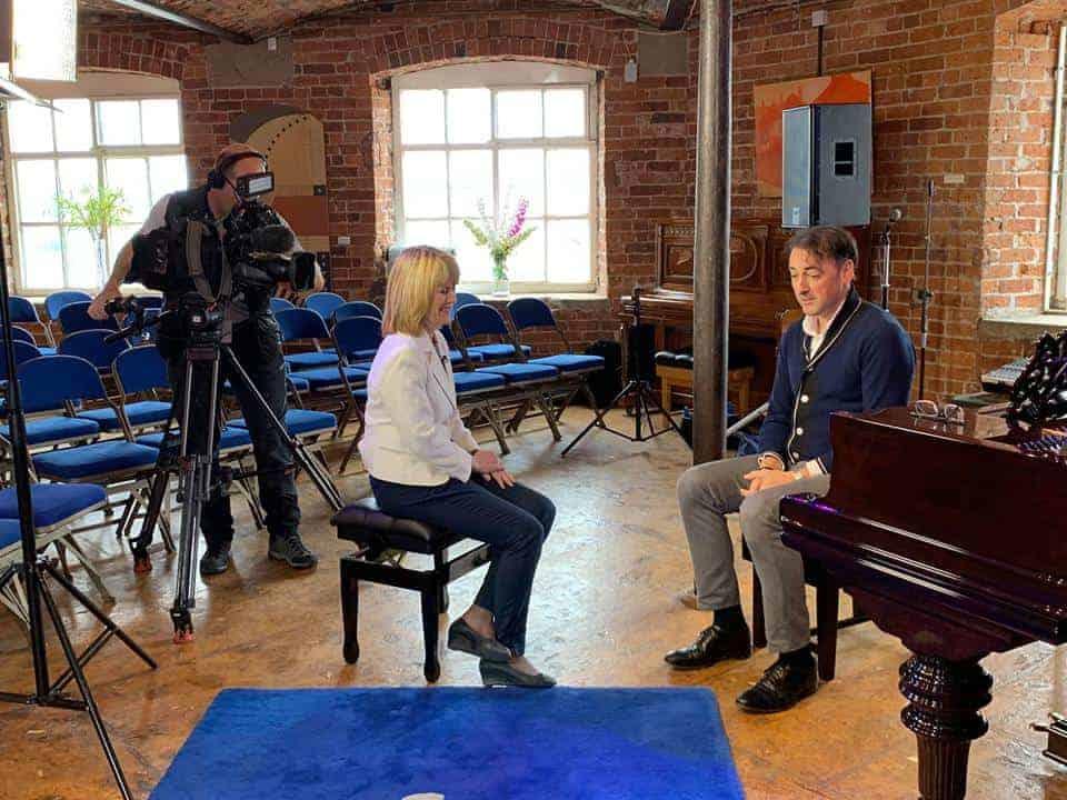 Alistair McGowan Besbrode Pianos Leeds