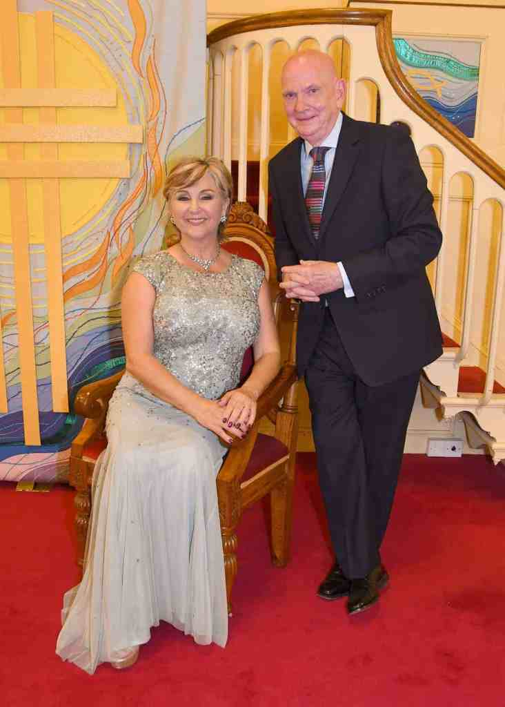 Lesley Garrett at the Wesleey Centre, Malton. Pictured with Paul Emberley. Pictured with Paul Picture by David Harrison.
