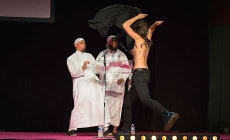 femen salafistes pontoise islam